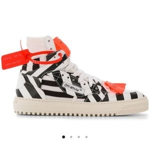 Off-white court sneakers 3.0